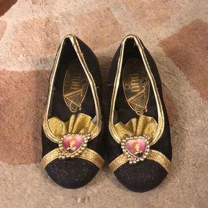Frozen Anna Coronation shoes- toddler 7/8